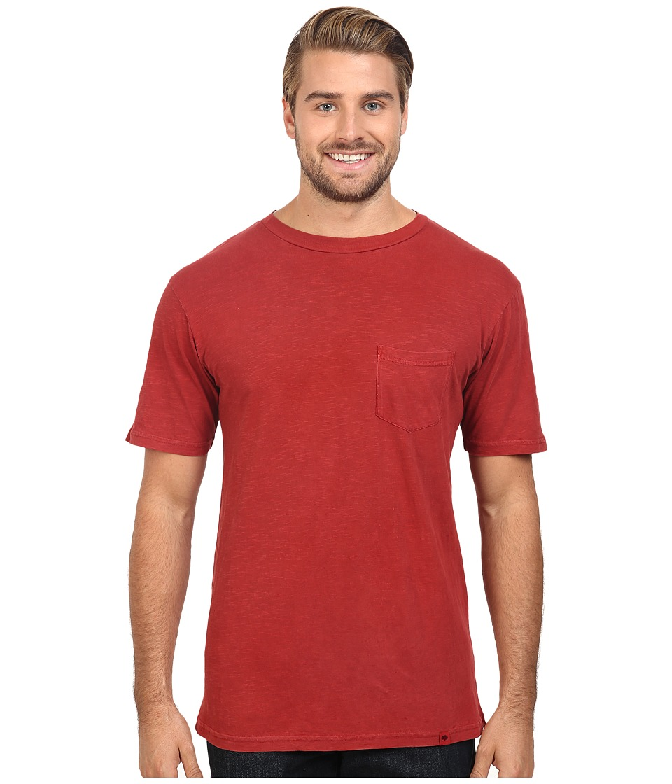 Mountain Khakis - Indie Go Short Sleeve Shirt (Pomegranate) Men's Clothing