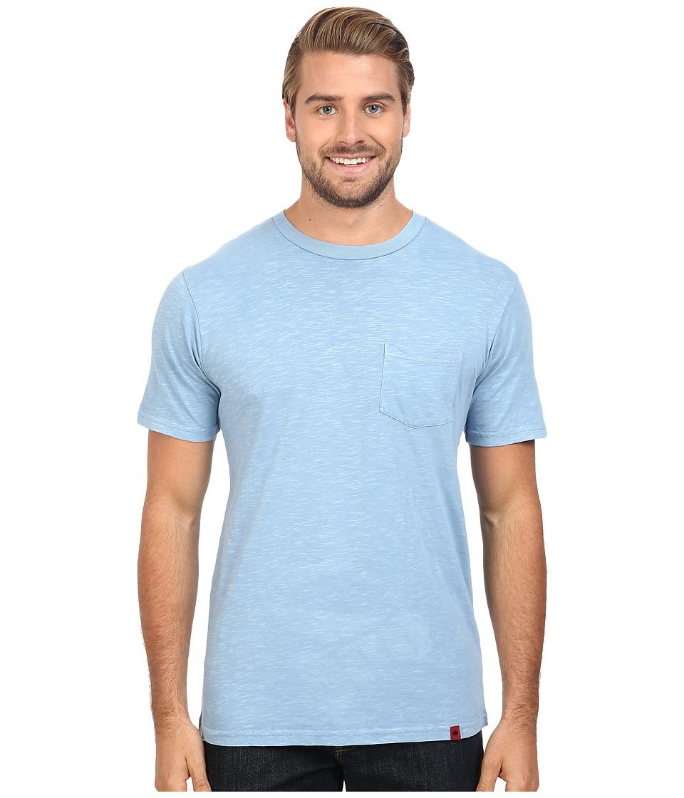 Mountain Khakis - Indie Go Short Sleeve Shirt (Light Indigo) Men's Clothing