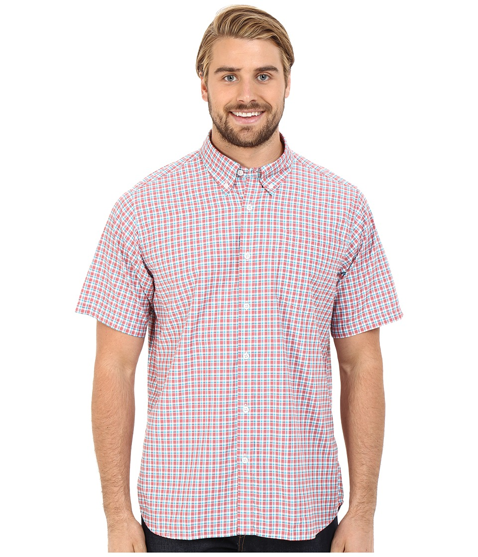 Mountain Khakis - Spalding Gingham Short Sleeve Shirt (Summer Red) Men's Clothing