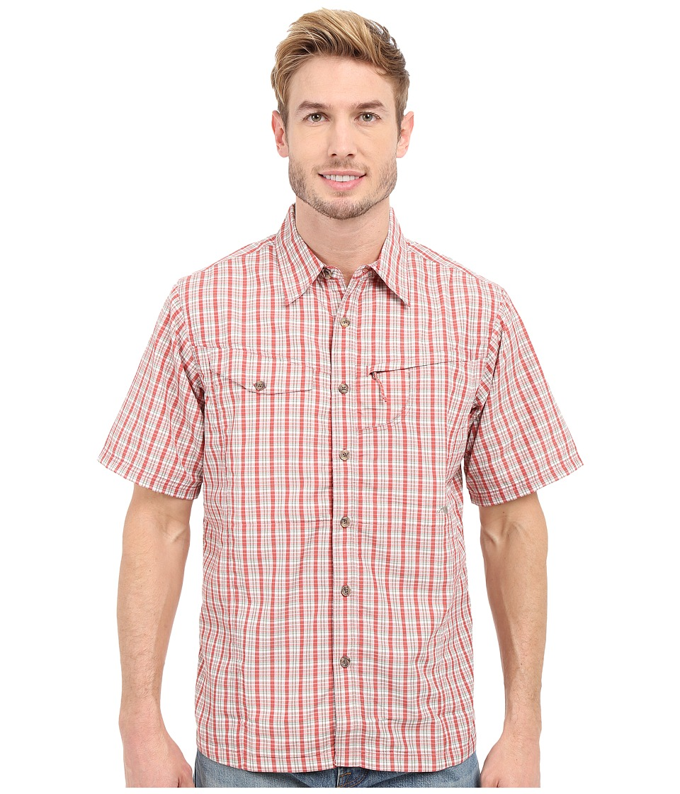 Mountain Khakis - Trail Creek Short Sleeve Shirt (Summer Red Plaid) Men's Clothing