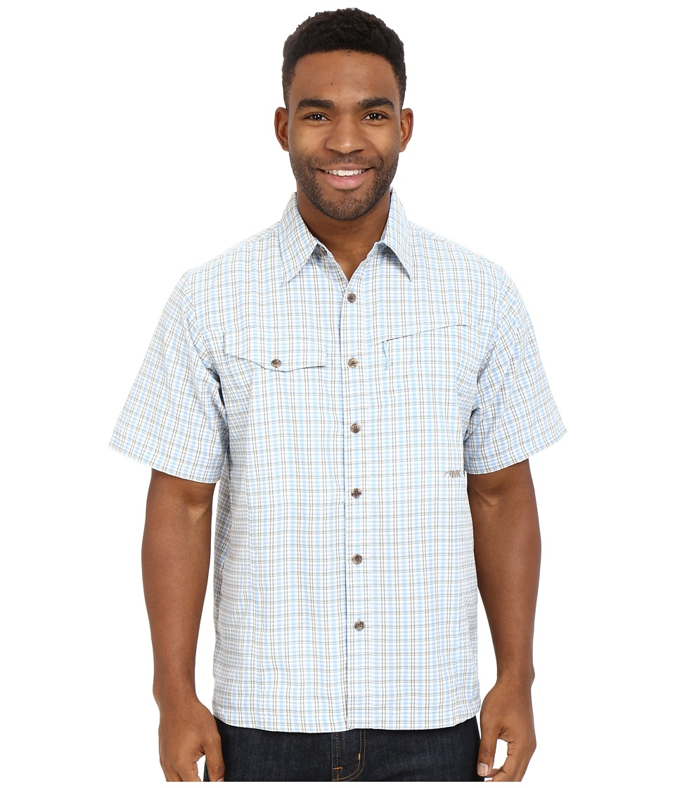 Mountain Khakis - Trail Creek Short Sleeve Shirt (Morning Sky Plaid) Men's Clothing