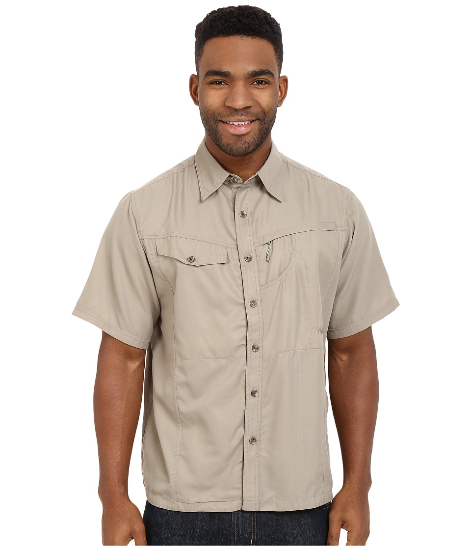 Mountain Khakis - Trail Creek Short Sleeve Shirt (Truffle) Men's Clothing