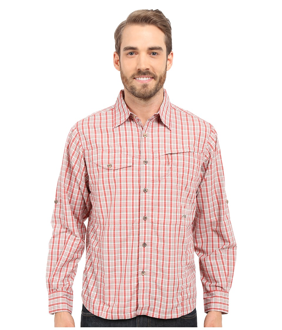 Mountain Khakis - Trail Creek Long Sleeve Shirt (Summer Red Plaid) Men's Clothing