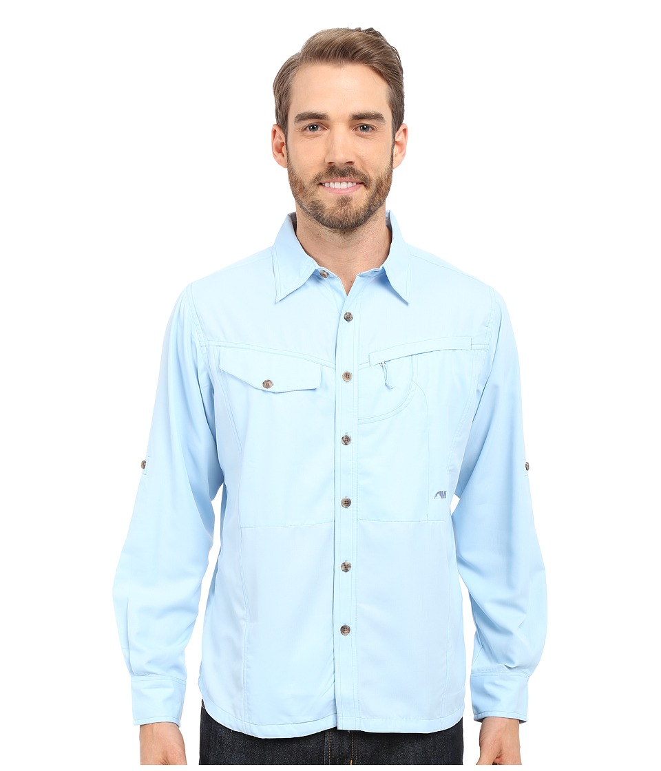 Mountain Khakis - Trail Creek Long Sleeve Shirt (Morning Sky) Men's Clothing
