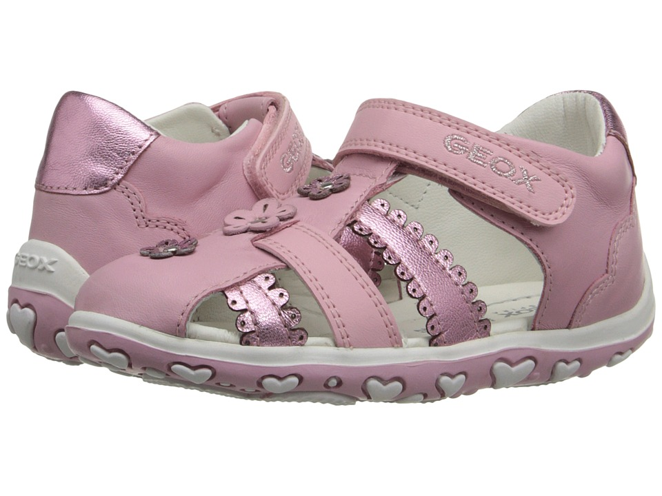 Geox Kids - Baby Bubble 58 (Infant/Toddler) (Pink) Girl's Shoes