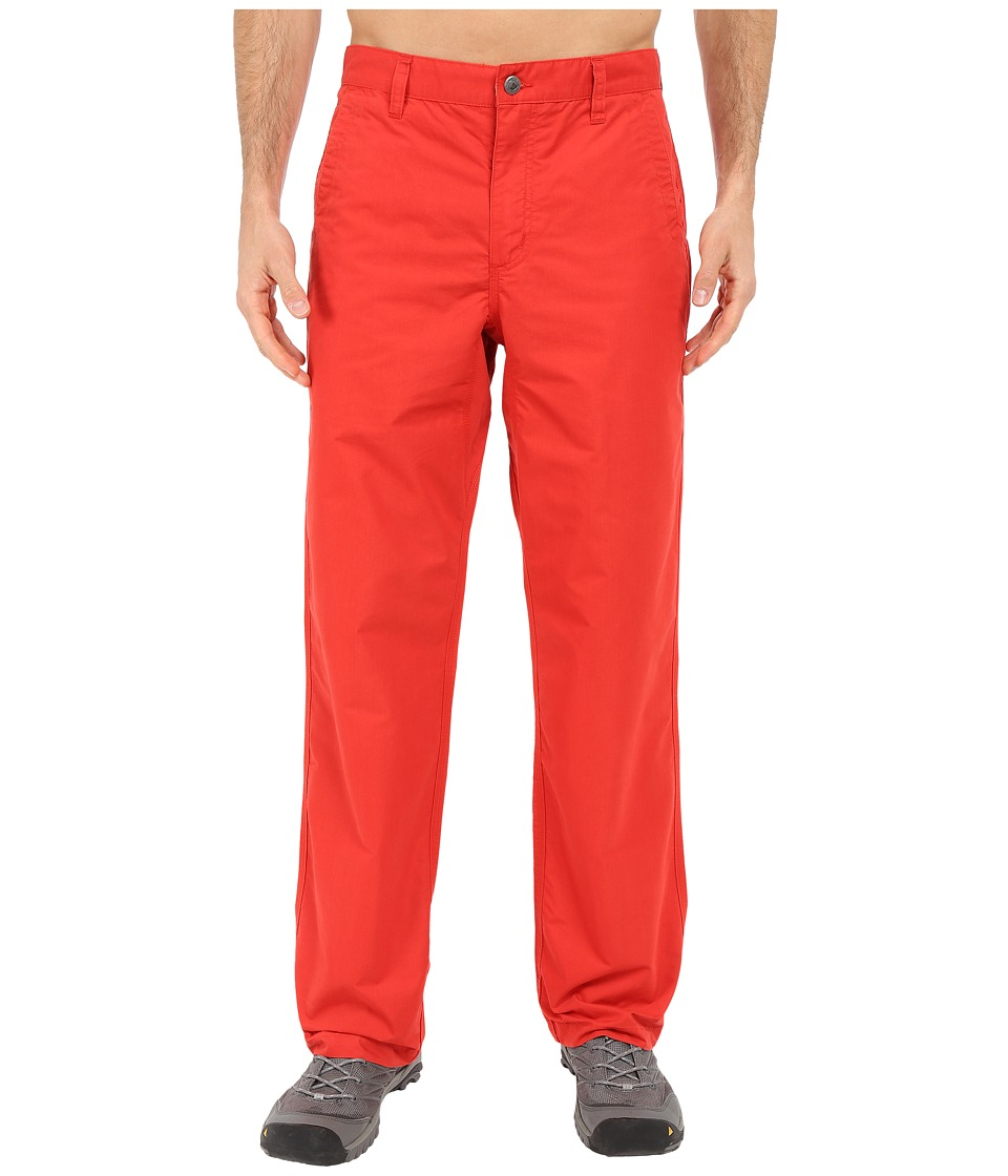 Mountain Khakis - Poplin Pant (Tomato) Men's Casual Pants