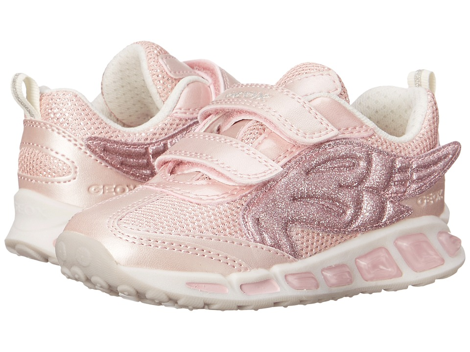 Geox Kids - Jr Shuttle Girl 6 (Toddler/Little Kid) (Pink) Girls Shoes