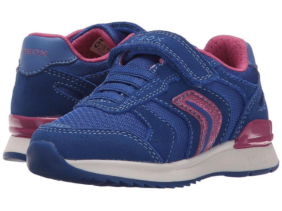 Geox Kids - Jr Maisie Girl 4 (Toddler/Little Kid) (Royal) Girl