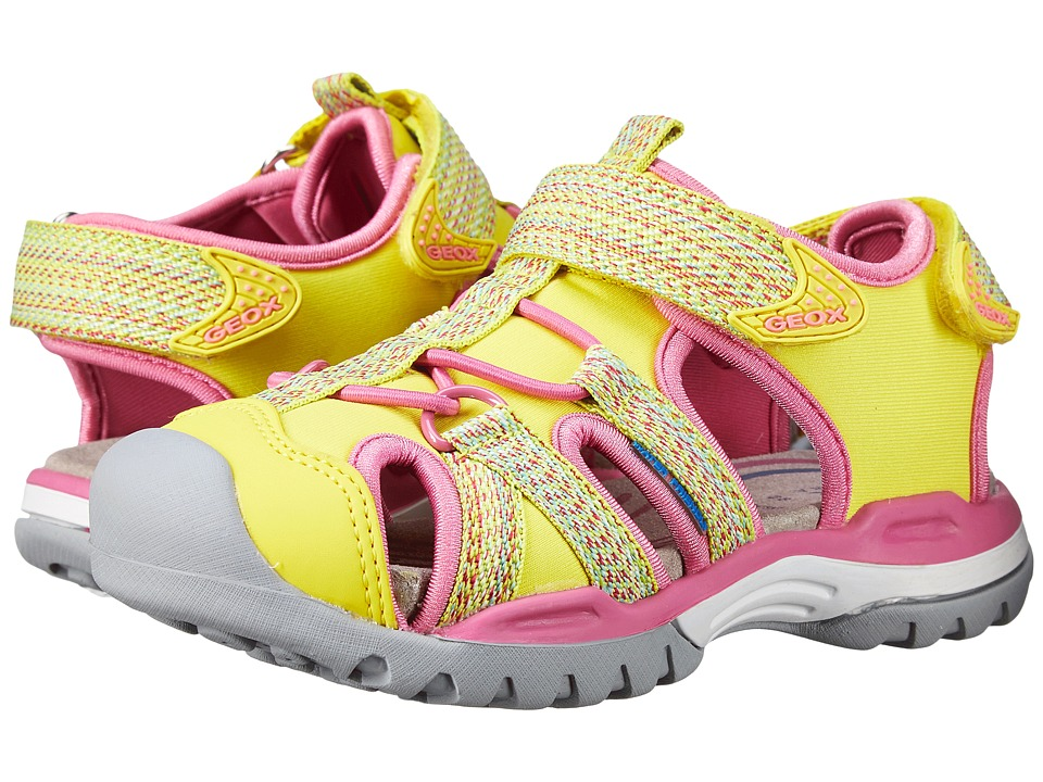 Geox Kids - Jr Borealis Girl 2 (Toddler/Little Kid) (Yellow) Girl