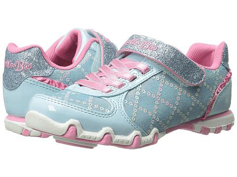 SKECHERS KIDS - Bella Ballerina-Prima 82057L (Little Kid/Big Kid) (Light Blue/Pink) Girls Shoes