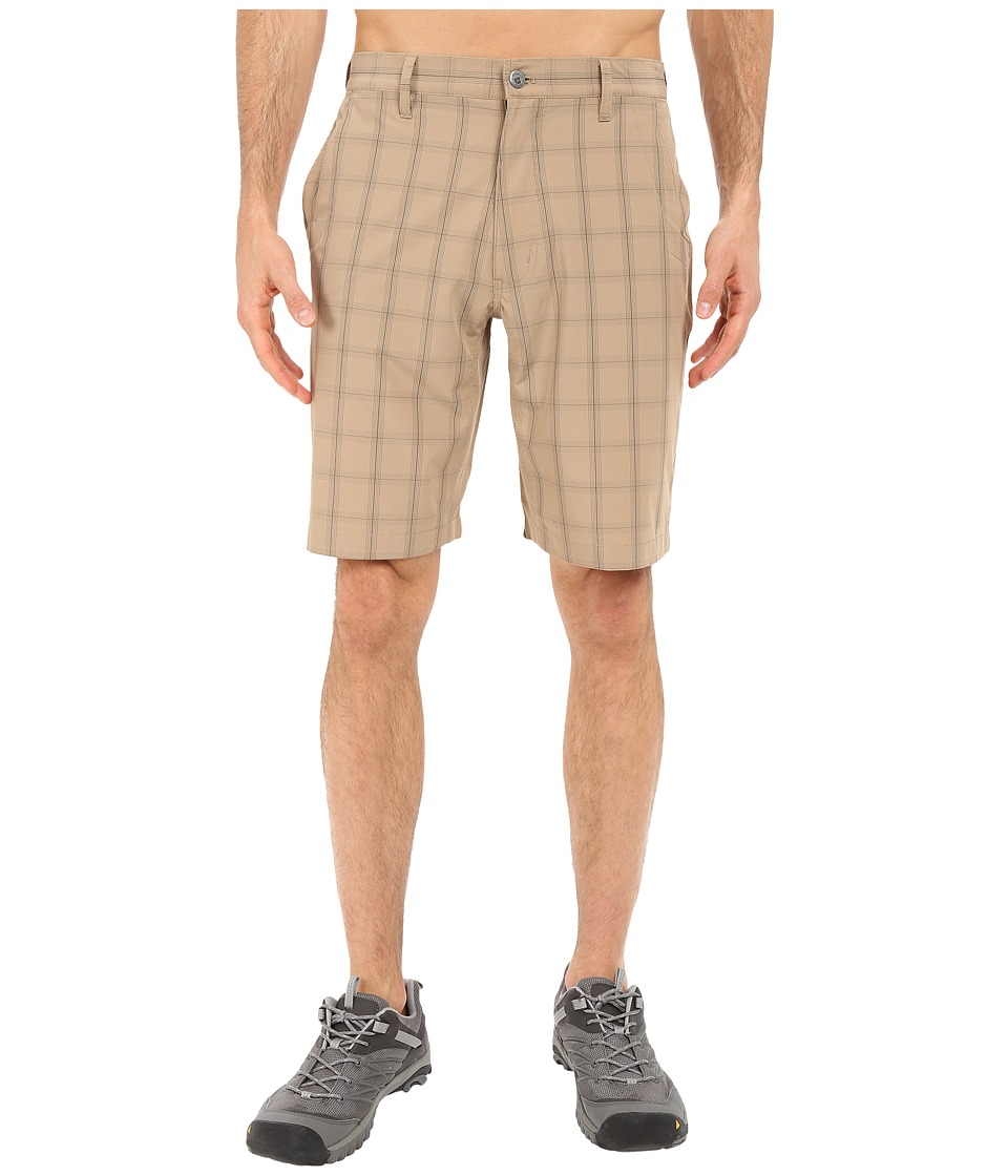 Mountain Khakis - Mulligan Shorts (Retro Khaki Plaid) Men's Shorts