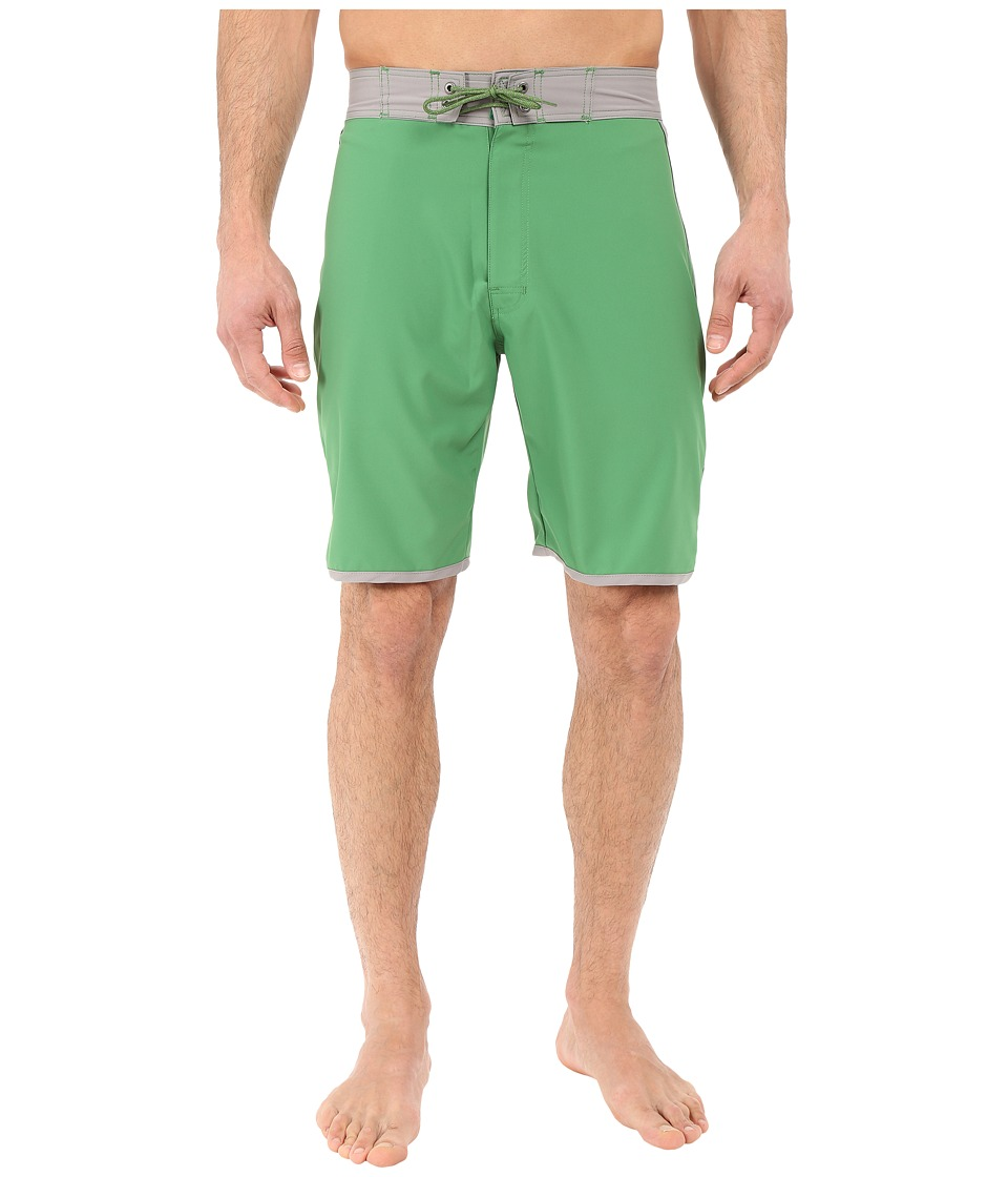 Mountain Khakis - Shifter Boardshorts (Evergreen) Men's Swimwear