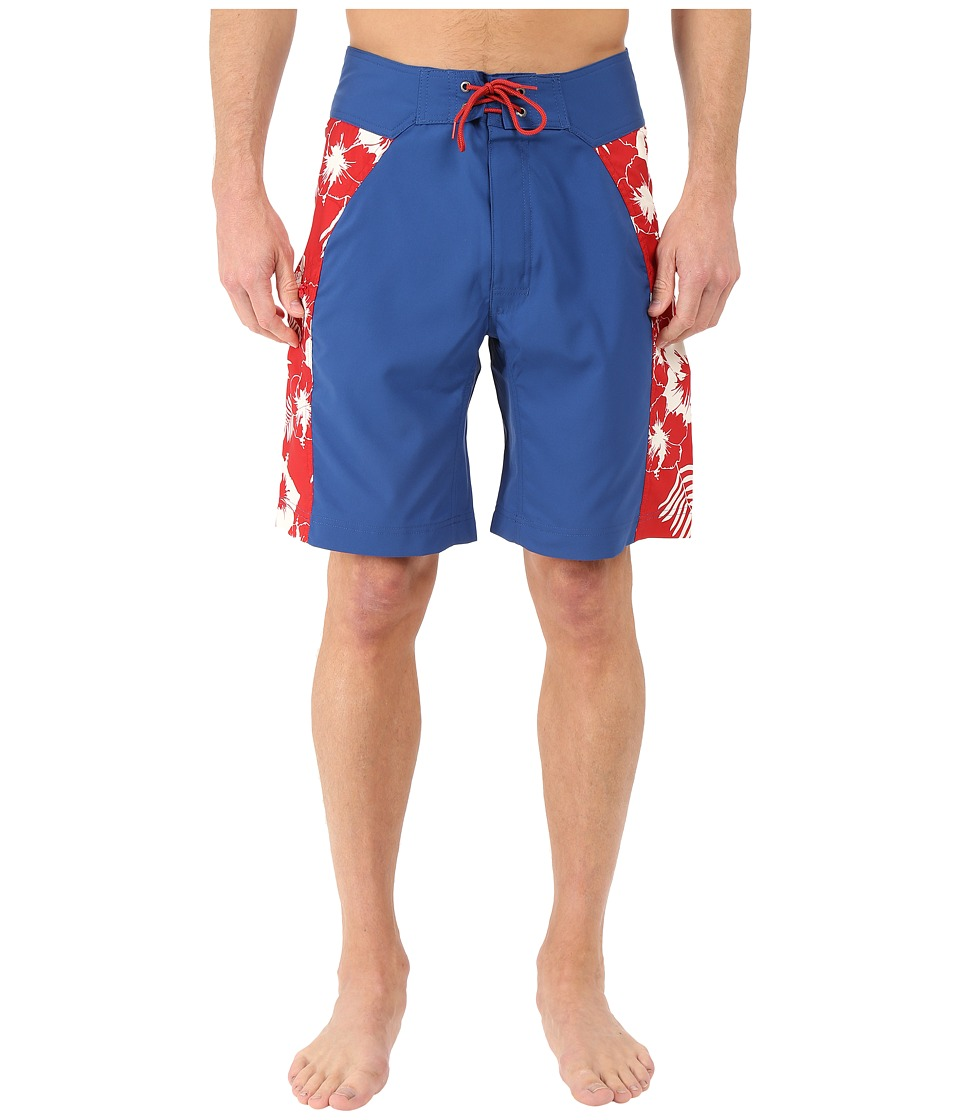 Mountain Khakis - Surfs Up Boardshorts (Marlin) Men's Swimwear