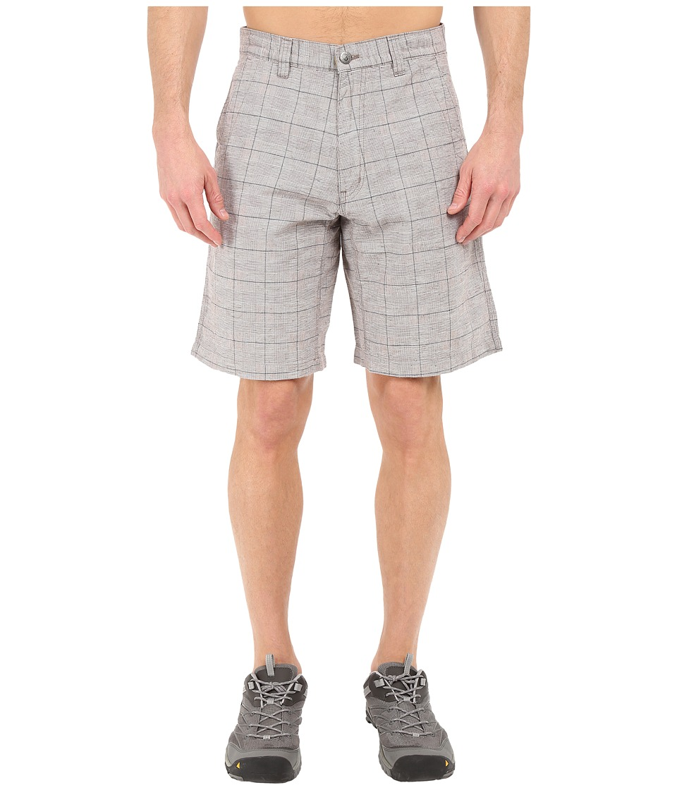 Mountain Khakis - Boardwalk Plaid Short (Firma) Men's Shorts