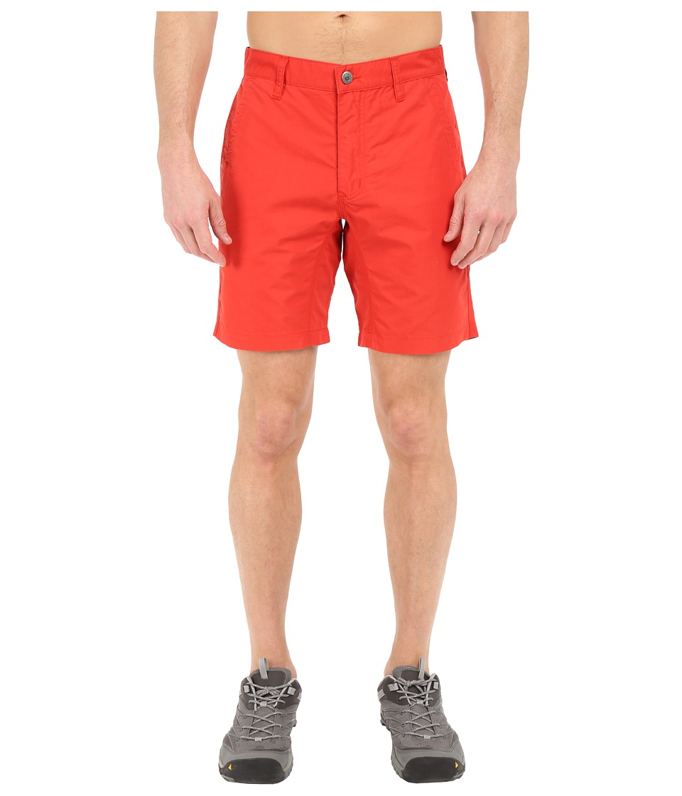 Mountain Khakis - Slim Fit Poplin Short (Tomato) Men's Shorts