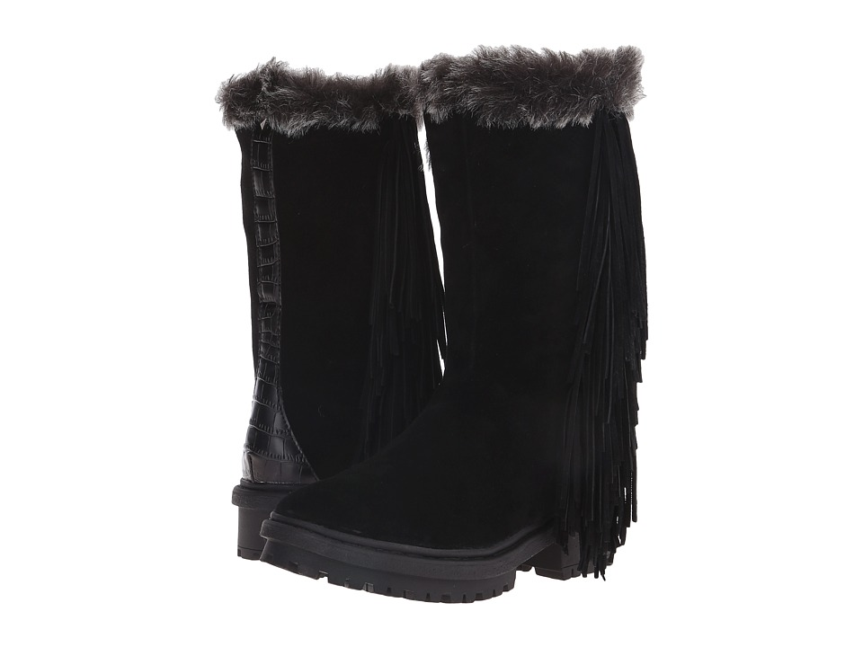 Sam Edelman - Tilden (Black Oily Velour Suede) Women