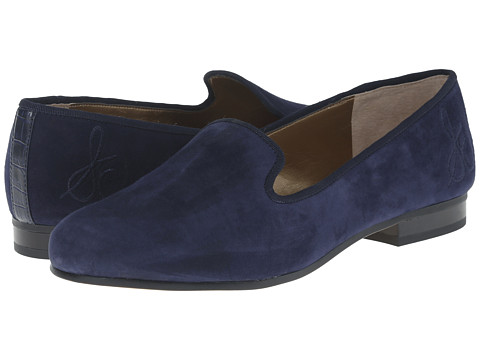 Sam Edelman - Hurlie (Space Blue Kid Suede) Women's Flat Shoes