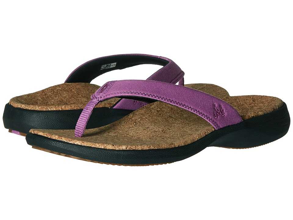 SOLE - Cork Flips (Orchid) Women's Sandals