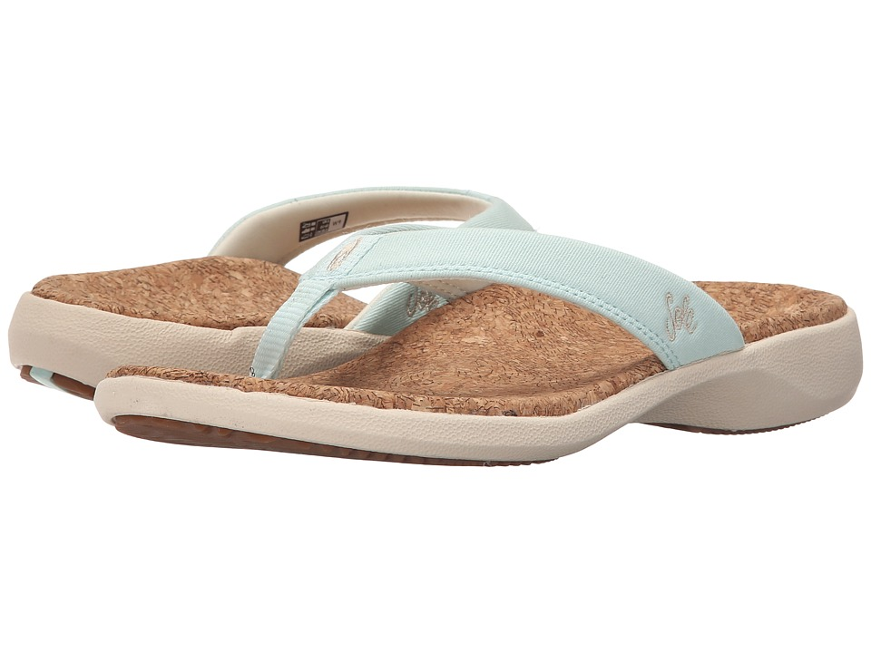 SOLE - Cork Flips (Opal) Women's Sandals