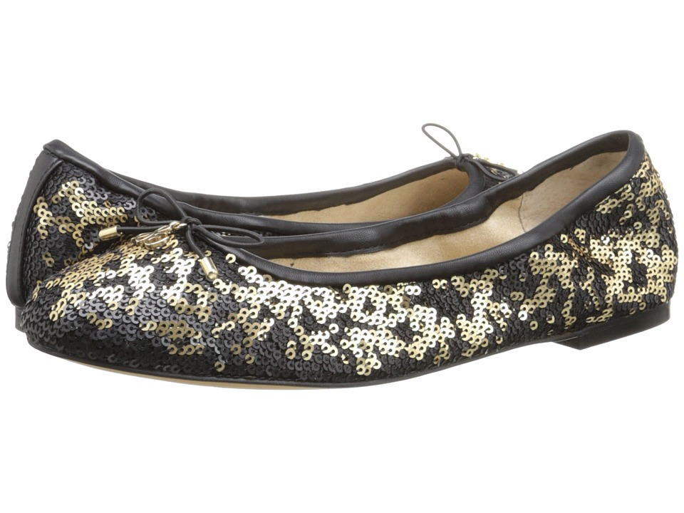 Sam Edelman - Felicia (Pure Gold Twiggy Sequins) Women's Flat Shoes