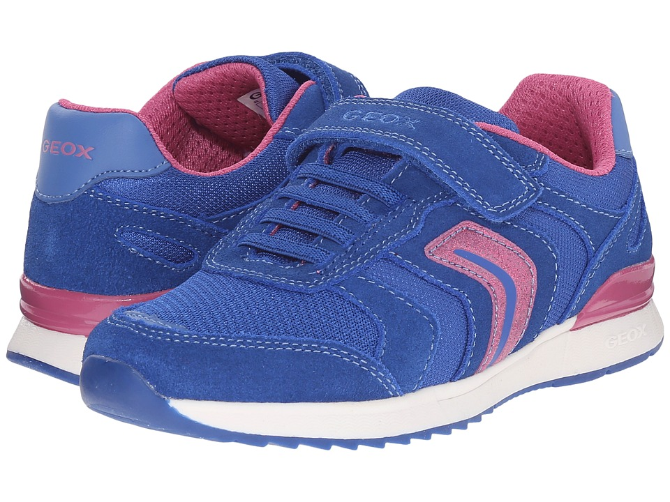 Geox Kids - Jr Maisie Girl 4 (Little Kid/Big Kid) (Royal) Girl