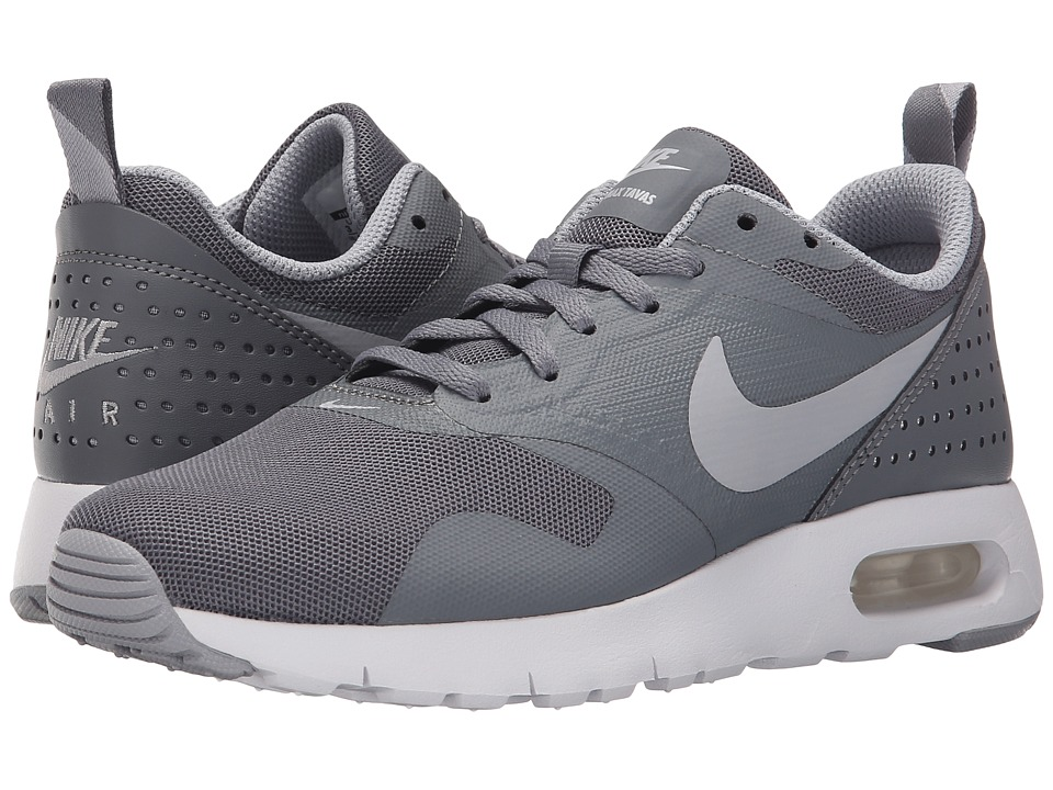 Nike Kids - Air Max Tavas GS (Big Kid) (Cool Grey/White/Wolf Grey) Boys Shoes