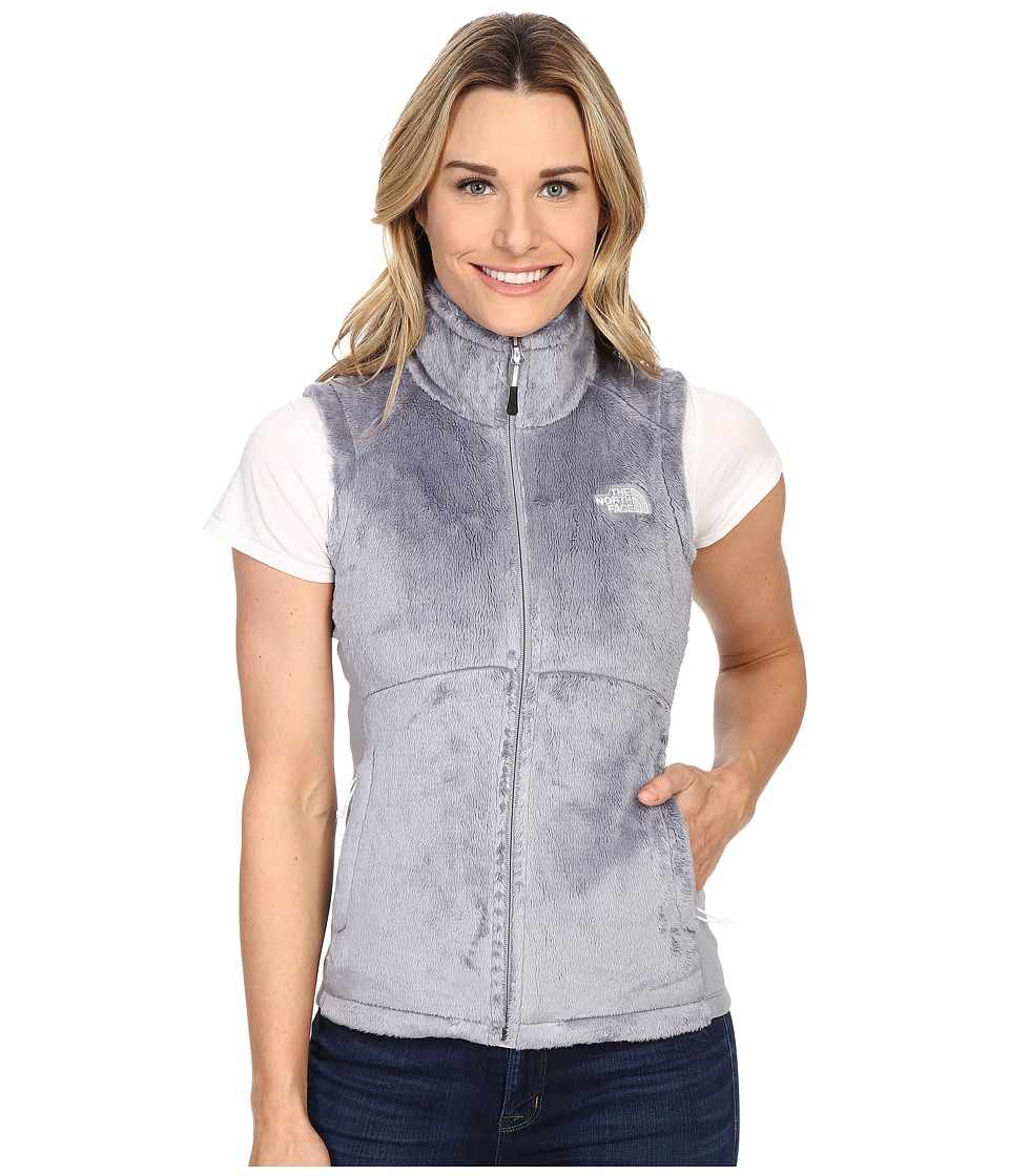 The North Face - Osito Vest (Mid Grey/Mid Grey) Women