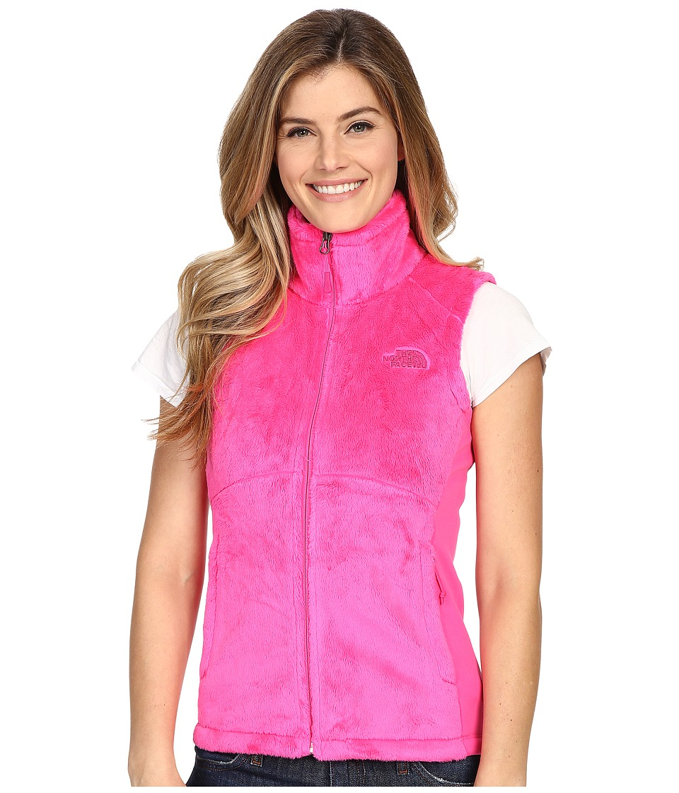 The North Face - Osito Vest (Glo Pink/Glo Pink) Women's Vest