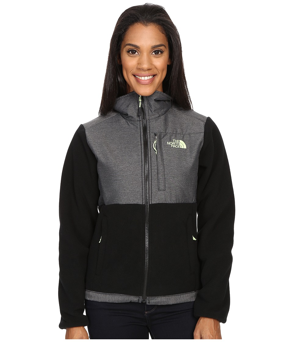 The North Face - Denali Jacket (Recycled TNF Black/TNF Black Heather) Women's Coat
