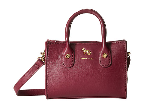 Emma Fox - Delmar Mini Tote (Raisin) Tote Handbags