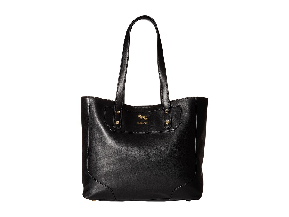 Emma Fox - Gidran Large Tote (Black) Tote Handbags