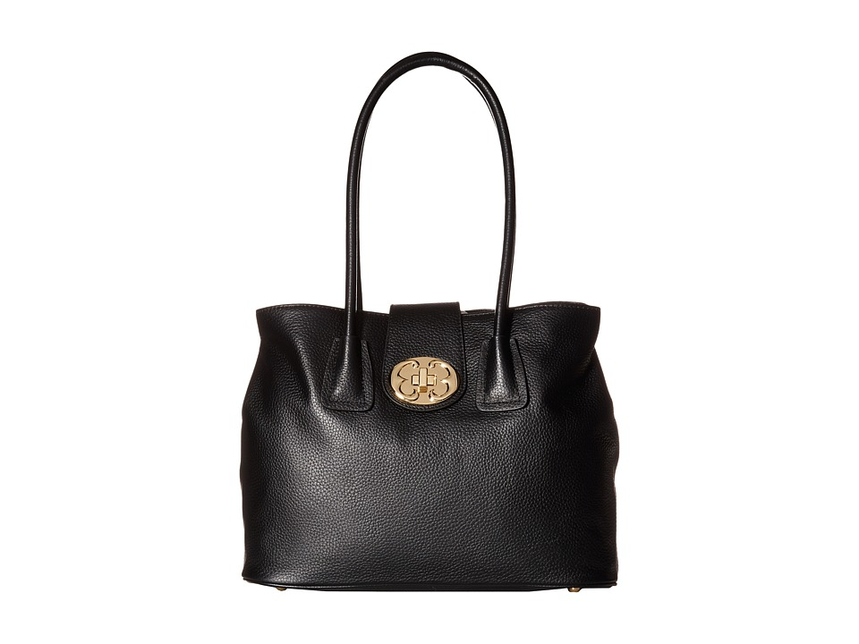 Emma Fox - Jutland New Classics Fused Tote (Black) Tote Handbags