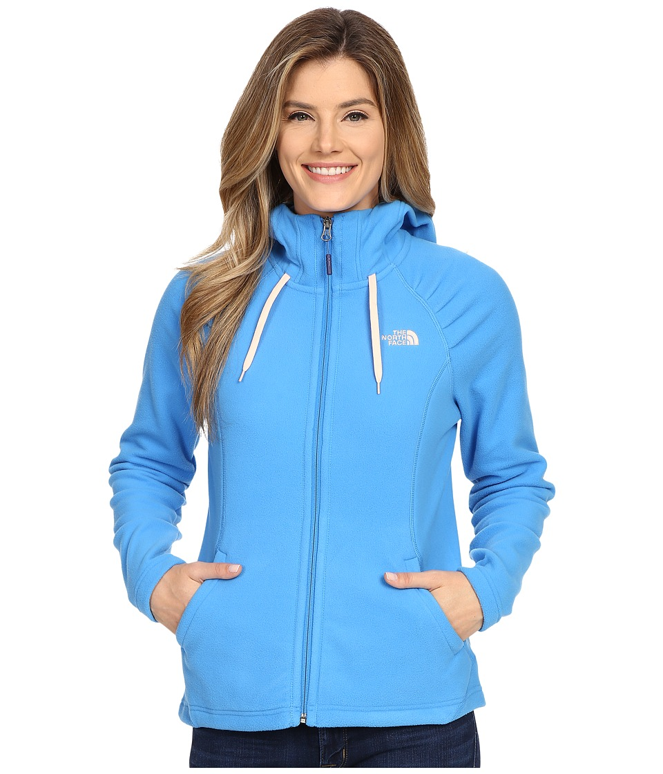 The North Face - Mezzaluna Hoodie (Clear Lake Blue) Women's Sweatshirt