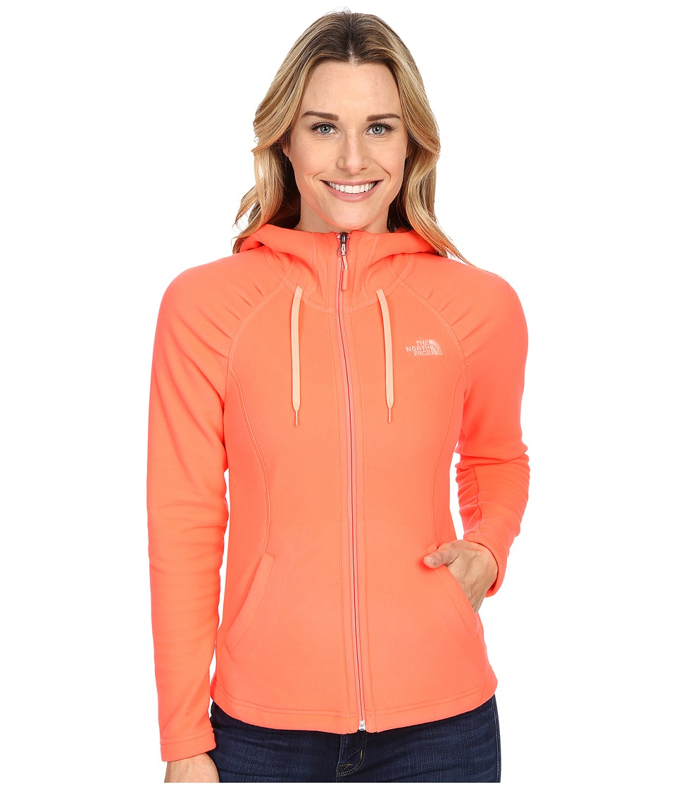 The North Face - Mezzaluna Hoodie (Tropical Coral) Women's Sweatshirt