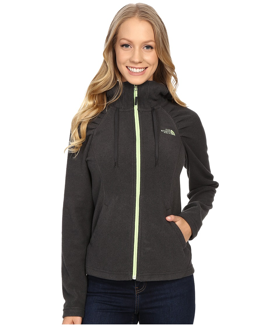 The North Face - Mezzaluna Hoodie (TNF Dark Grey Heather) Women's Sweatshirt