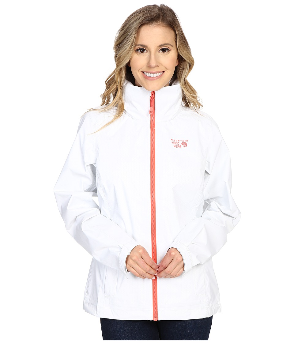 Mountain Hardwear - Plasmic Ion Jacket (White) Women's Coat