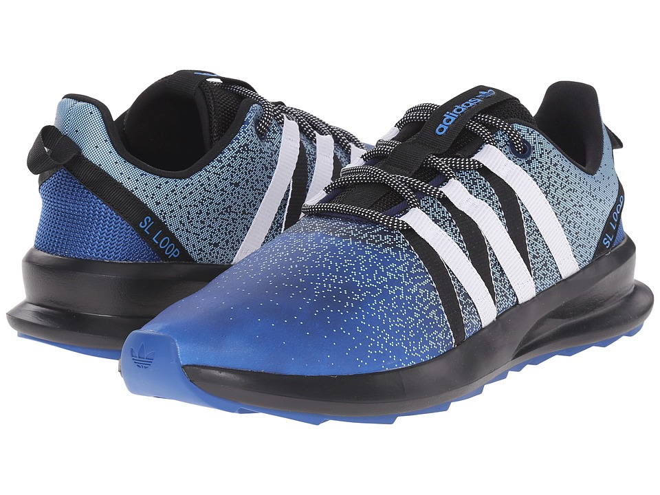 adidas Originals - SL Loop - Chromatech (EQT Blue/White/Black) Men's Shoes