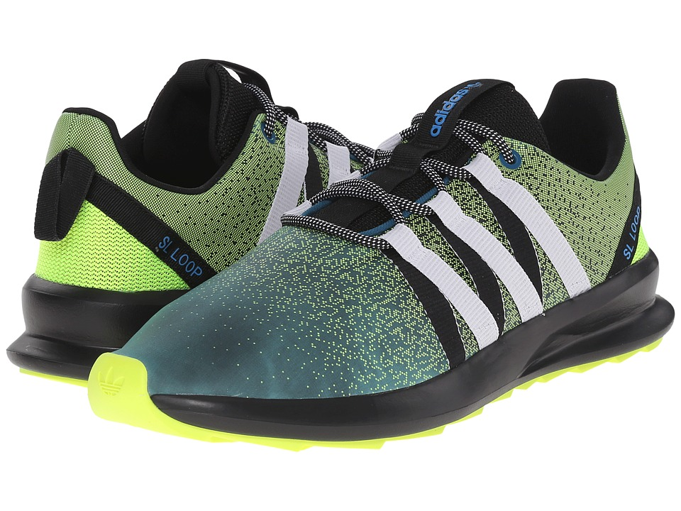adidas Originals - SL Loop - Chromatech (Solar Yellow/White/Black) Men's Shoes
