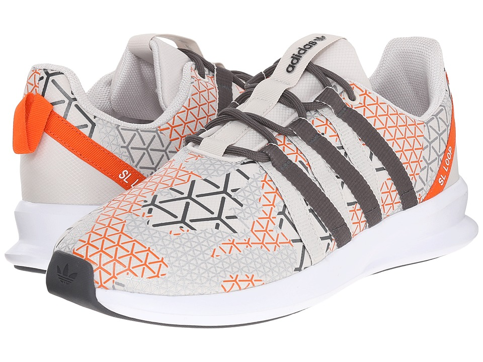adidas Originals - SL Loop Racer (Talc/DGH Solid Grey/Orange) Men