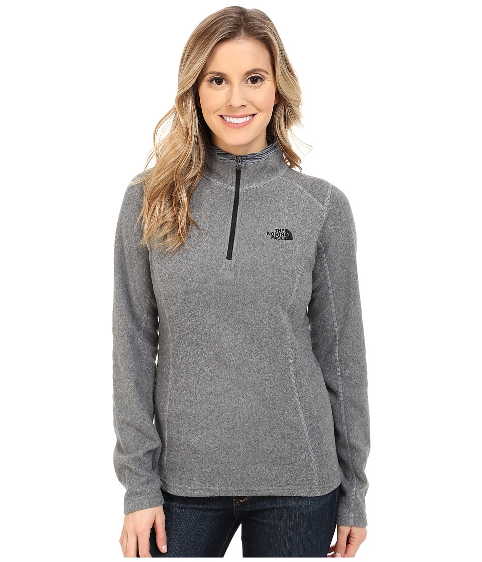 The North Face - Glacier 1/4 Zip (TNF Medium Grey) Women's Sweatshirt