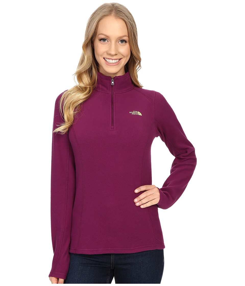 The North Face - Glacier 1/4 Zip (Pamplona Purple) Women's Sweatshirt