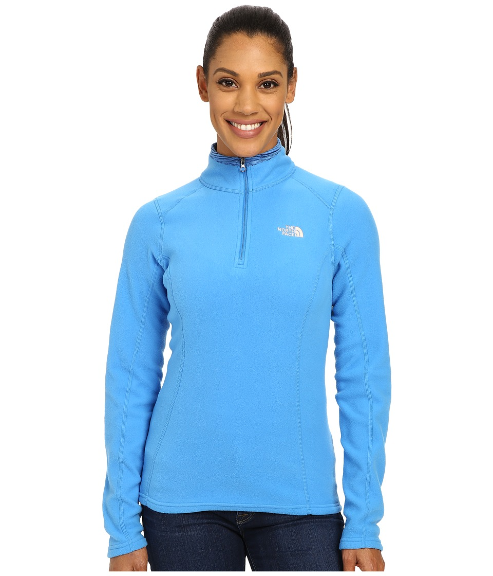 The North Face - Glacier 1/4 Zip (Clear Lake Blue) Women's Sweatshirt