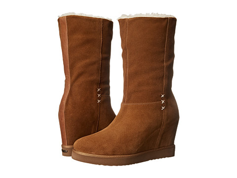 Koolaburra - La Cienega (Chestnut) Women's Shoes