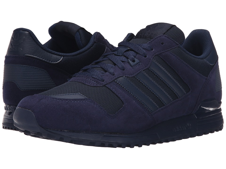 adidas Originals - ZX 700 - Mono (Collegiate Navy/Collegiate Navy/Collegiate Navy) Men's Shoes