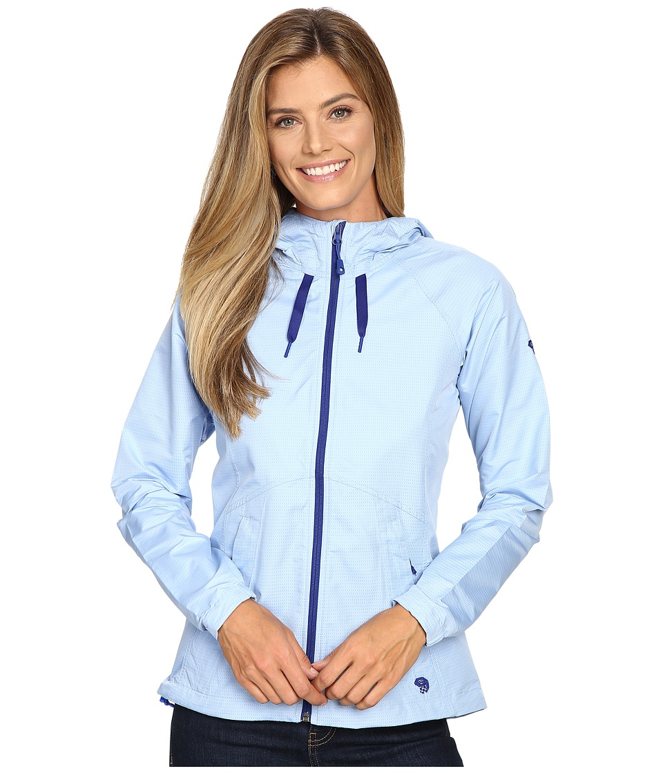 Mountain Hardwear - Wind Activa Jacket (Bright Island Blue) Women's Coat