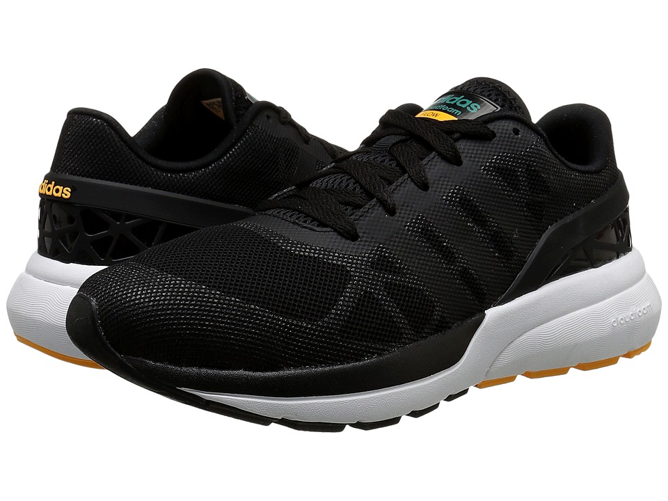 adidas - Cloudfoam Flow (Core Black/Core Black/EQT Green) Men's Running Shoes
