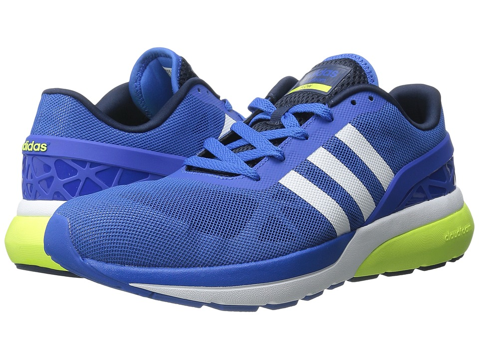 adidas - Cloudfoam Flow (Blue/White/Solar Yellow) Men's Running Shoes