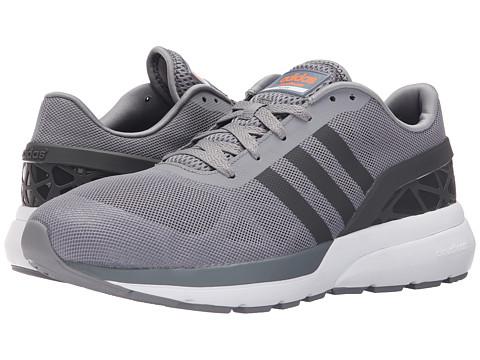 adidas - Cloudfoam Flow (Grey/Solid Grey/Solar Orange) Men's Running Shoes