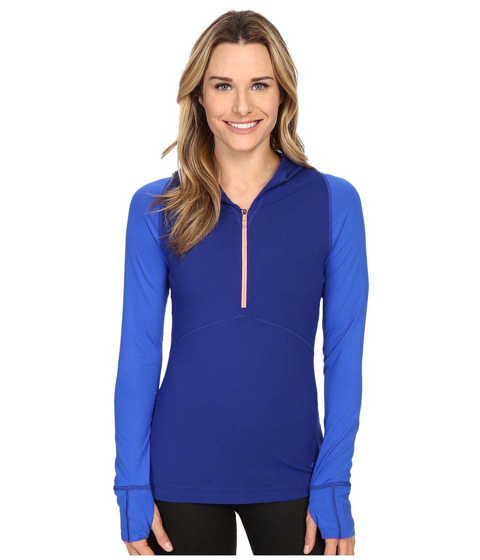 Mountain Hardwear - Butterlicious Long Sleeve Hoodie (Dynasty) Women's Sweatshirt
