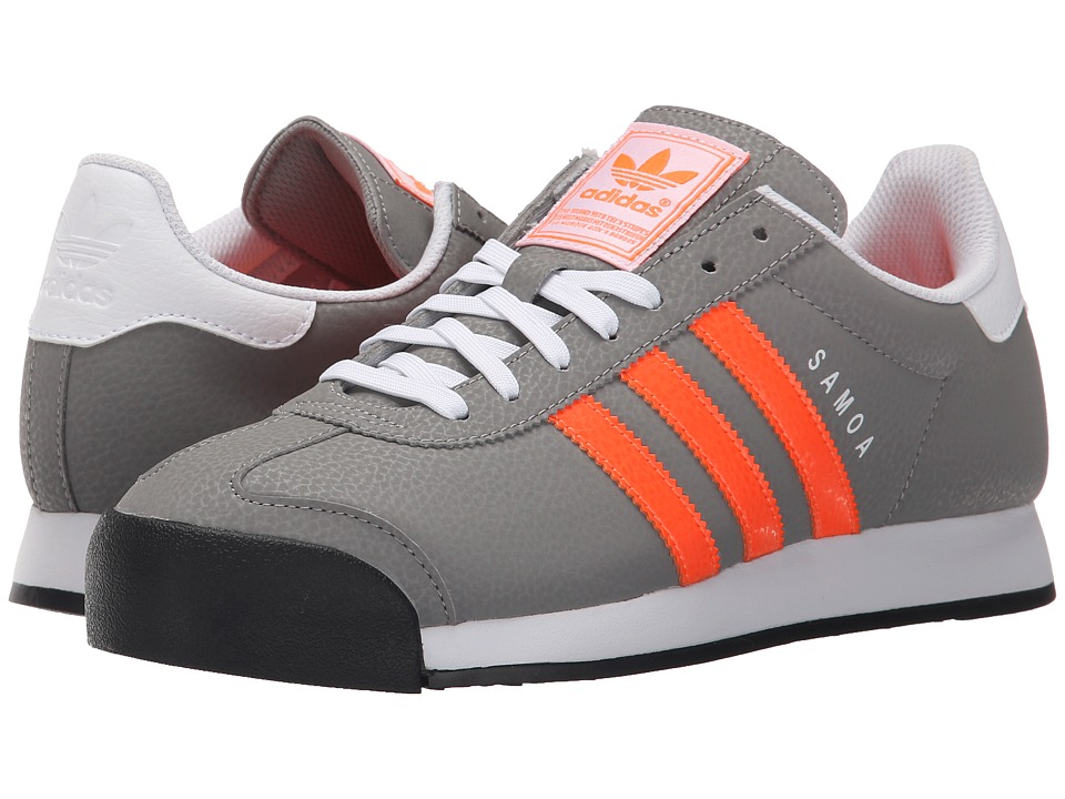 adidas Originals - Samoa (CH Solid Grey/Solar Orange/White) Men's Classic Shoes